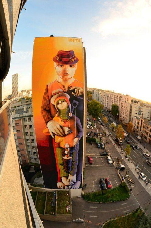 INTI http://www.widewalls.ch/artist/inti/ #street #art