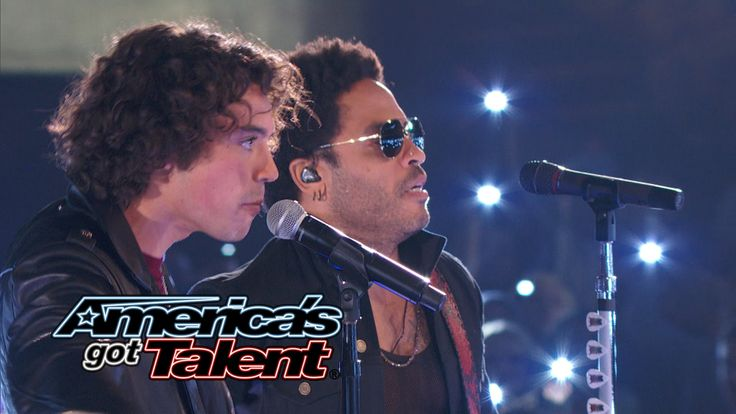 Miguel Dakota: Lenny Kravitz Joins Rocker Onstage - America's Got Talent...