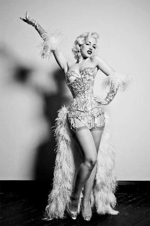 Being a burlesque performer has taught me so much.   Tease your audience - whether that be your future biz client, your partner, your hot date.   Never reveal all.  Keep something back to aid your air of mystery.   Lessons in Womanly Superpowers.  www.shinewithstar.com