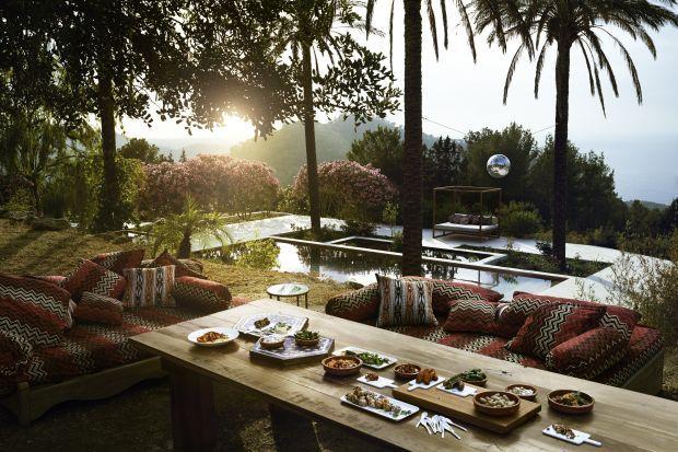 Jade Jagger at home in her Ibiza  by ikh.villas