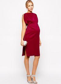 вечерние платья для беременных на свадьбу2