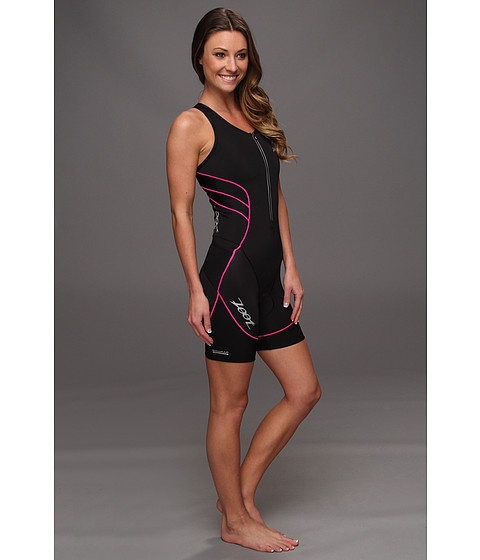 Zoot Sports Ultra Tri Racesuit - looks like the perfect tri suit:  pretty colors, front zipper, racer back :)