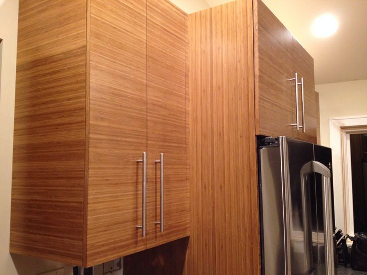 Bamboo Kitchen Cabinets Made By Ravenswood Custom Woodworking   Milwaukee,  WI