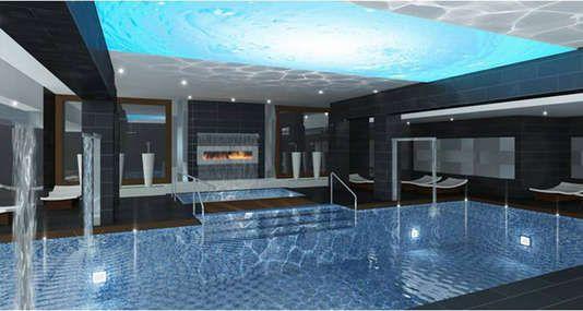@deltahotels  Delta Hotels & Resorts - Delta Waterloo - Indoor pool area #expectevenmore #deltasummer