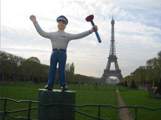 M. Rooter en France! (Mr. Rooter in France!)