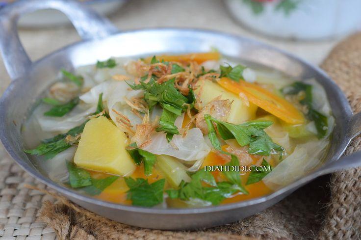 Diah Didi's Kitchen: Jangan Bening