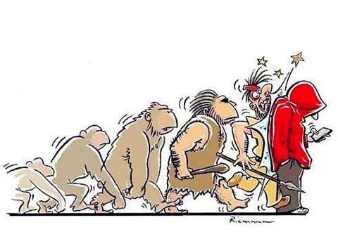 """""""J'ai trouvé le chaînon manquant entre le singe et l'Homme : c'est nous !"""" Konrad Lorenz"""