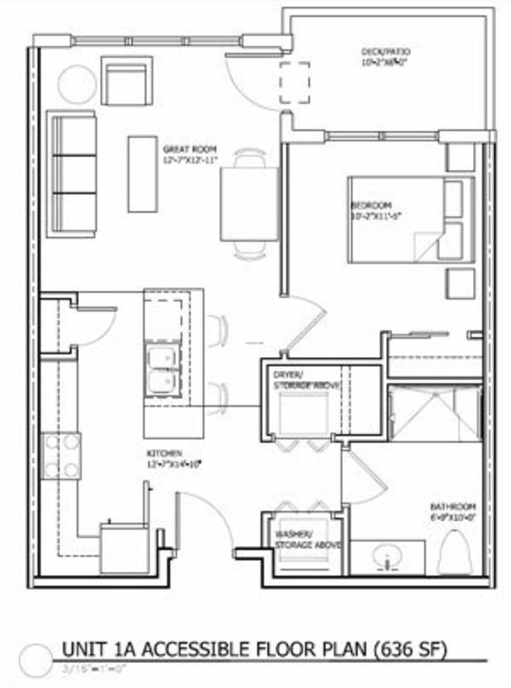 Best 25 apartment floor plans ideas on pinterest 2 for 40 x 40 apartment plans