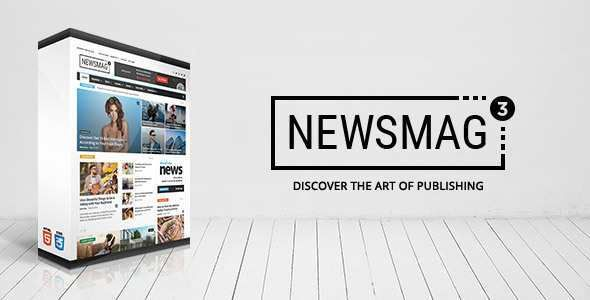 Newsmag – News Magazine Newspaper Theme Free Download