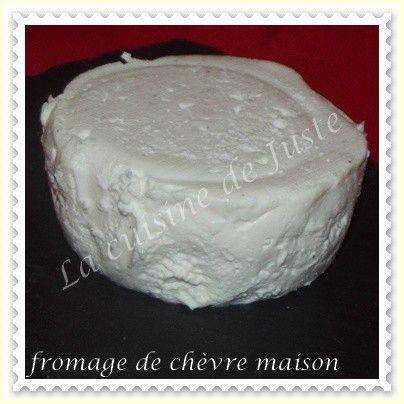 Fromage de chèvre maison (MD)