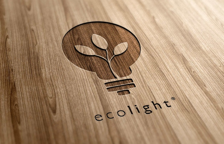 I like how the wires inside of the lightbulb look like a plant. This is a good design in my opinion because it's easily recognizable even if the designer were to remove the name 'ecolight'