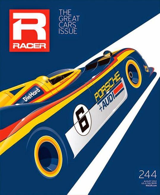 NAS CAPAS: RACER