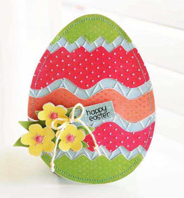 Рисовать, открытка пасхальное яйцо для начальной школы