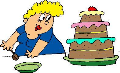 dikke vrouw találkozott taart