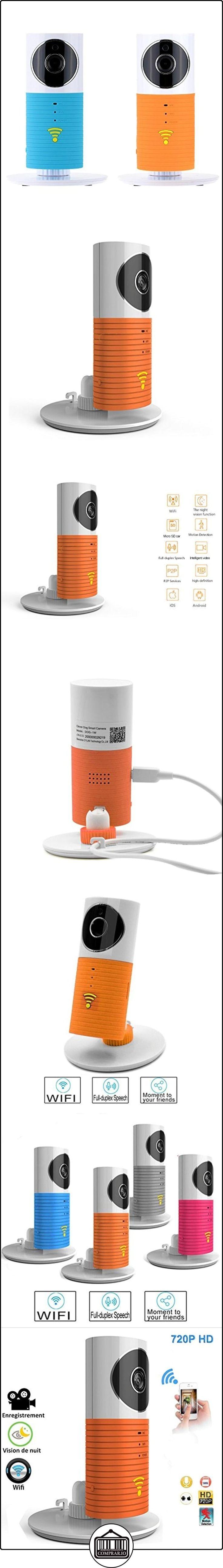 Electro-Weideworld P2P Wifi Cámara Vigilancia Baby Monitor Wifi Two-way Audio Vigilabebés Con Incorporados Altavoz y Micrófono ,Visión Nocturna Seguridad para Bebé  ✿ Vigilabebés - Seguridad ✿ ▬► Ver oferta: http://comprar.io/goto/B01HXMI9ZA