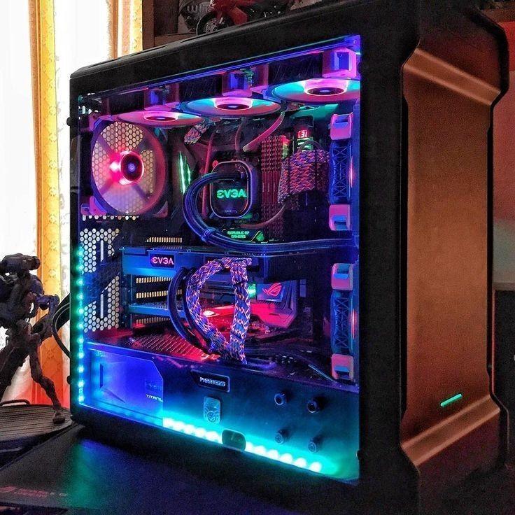 Intel I7 Extreme Evga Gtx 1080ti 64gb Ddr4 Ram Liquid Cooled