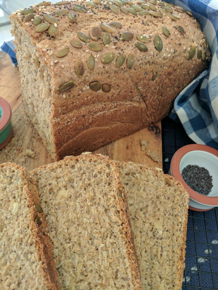 Prepared in three minutes using a food processor it is fluffy moist and so tasty. Incorporating seeds into home-made bread add so much flavour and texture. Dont underestimate the value of adding yo…