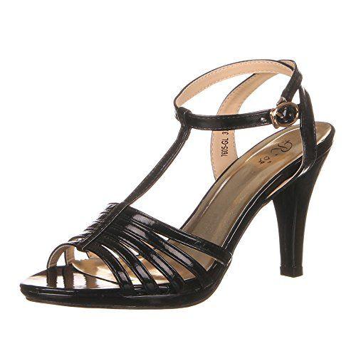 Damen Schuhe, 7605-GL, SANDALETTEN - http://on-line-kaufen.de/ital-design/damen-schuhe-7605-gl-sandaletten