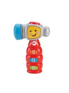 Laugh and Learn Tap 'n Learn Hammer The numbered buttons that you see in the image are only stickers and not real buttons. http://awsomegadgetsandtoysforgirlsandboys.com/fisher-price-toys-12-24-months/ Laugh and Learn Tap 'n Learn Hammer