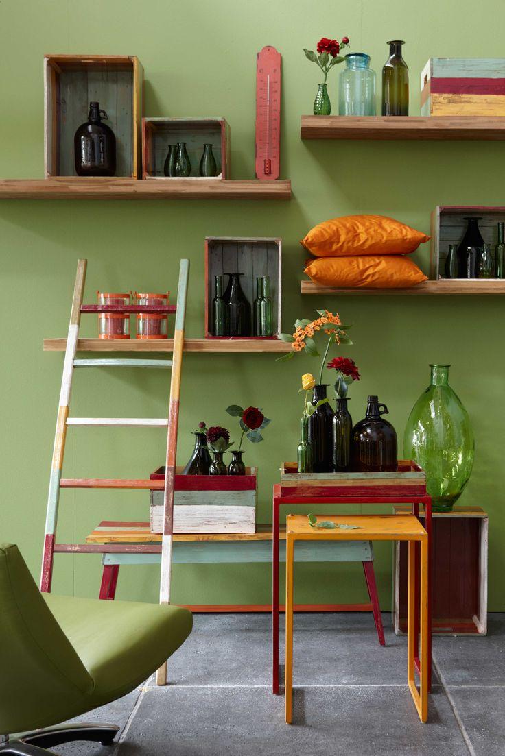 Meer dan 1000 ideeën over groene keuken op pinterest   limegroene ...