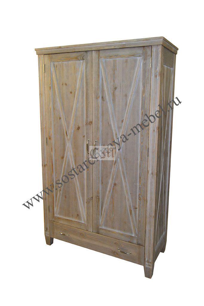 Шкаф в стиле кантри
