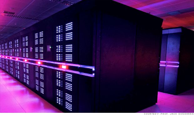 China builds fastest supercomputer in the world
