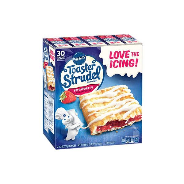 Pillsbury Toaster Strudel Strawberry Toaster Pastries (11.7 oz., 5... ❤ liked on Polyvore featuring home, kitchen & dining and kitchen gadgets & tools