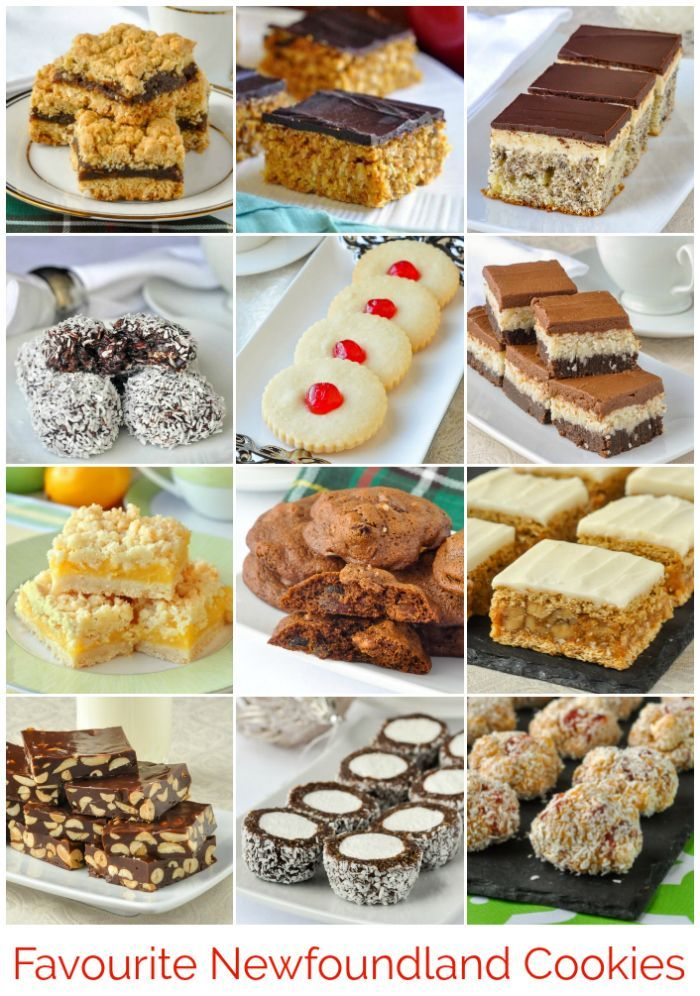 Classic Newfoundland Cookie Recipes - while I remember these from Christmases past growing up in the 70's in Newfoundland, any and all of these treats should be enjoyed year round. Many would be ideal for summer picnic baskets.