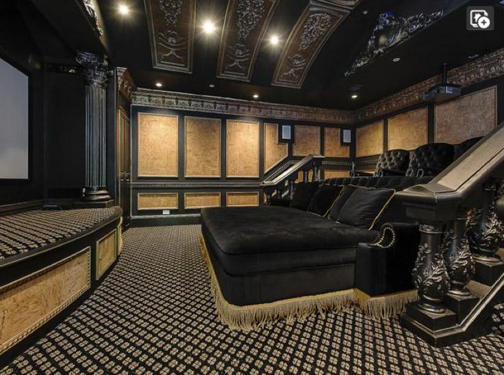 Home Theater With Stage   Dallas, Texas