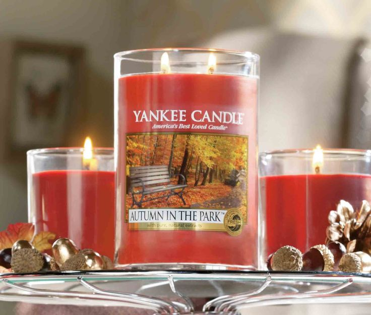 Yankee Candle Jars, Candle Shop, Happy Fall, Time Management, Seasonal Decor,  Household Items, The Park, Fragrances, Candles