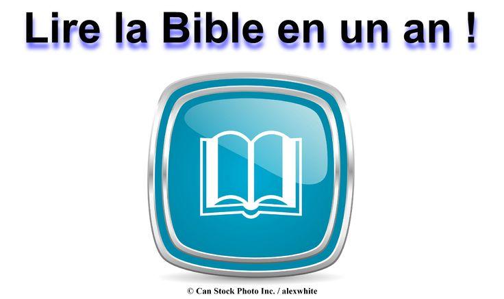 Lecture de la Bible entière peut sembler écrasante ! Pour vous faciliter la tâche, vous pouvez utiliser un calendrier pour la lecture de la Bible en un an. Se il vous plaît numériser des documents sur ce site et télécharger une copie gratuite : www.jw.org/fr/publications/livres/?start=36