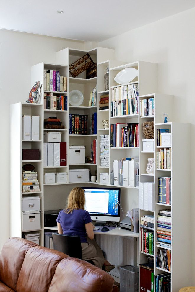 space saving home office idea Best 25+ Small home offices ideas on Pinterest | Home office closet, Office nook and Tiny office