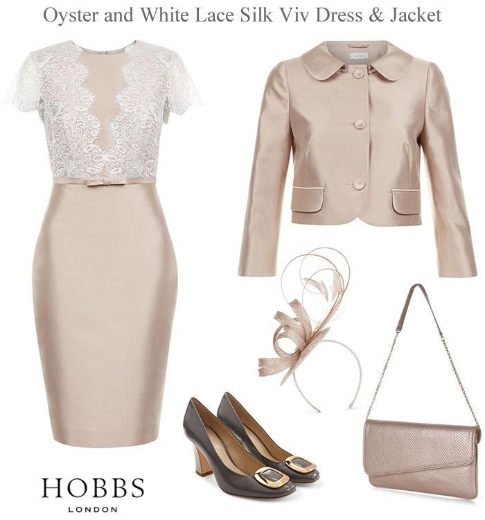 Hobbs Viv dress and matching jacket