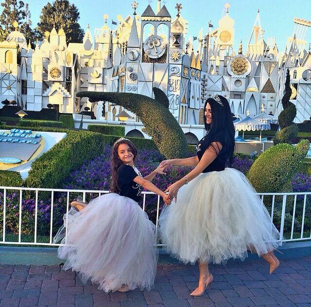 Mommy & me tutu skirts Disneyland