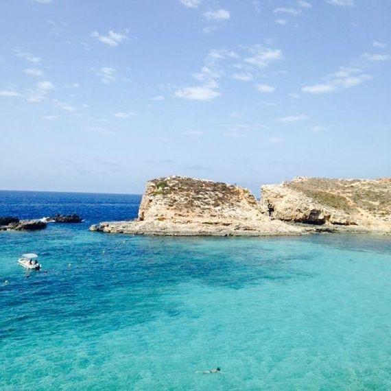 Șapte zile de uimire în Malta, #comino #islands #beach