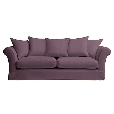 John Lewis Chambery Grand Loose Cover Sofa Price Band A Online At Johnlewis