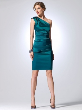 Perfect color. Love the dress, might be too clean cut for the look I'm going for.