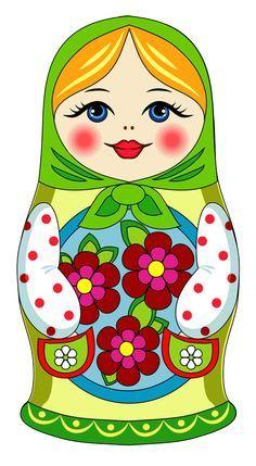 Resultado de imagen para imagenes de mamushkas para imprimir