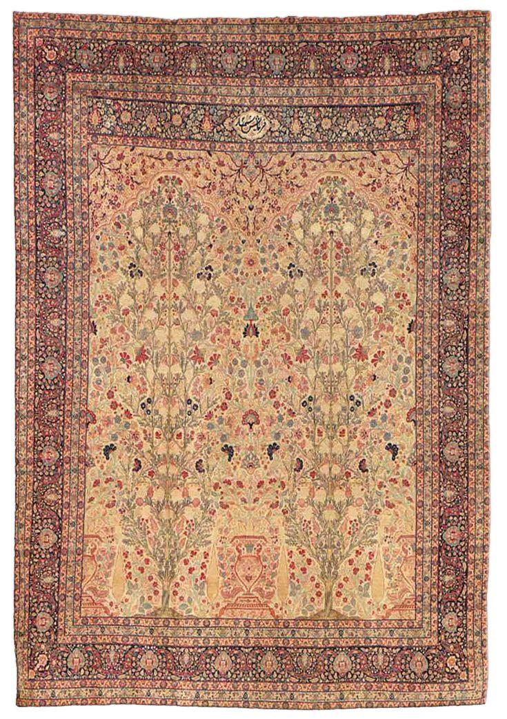 Antique Persian Tabriz Rug, Doris Leslie Blau
