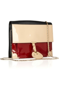 Jason Wu- Jourdan patent and leather shoulder bag: Expen Handbags, Fabulous Handbags, Jason Wu, Leather Shoulder Bags, Expensive Handbags, Bags Lady, Bags Hats Accessories, Purses Handbags, Jourdan Patent