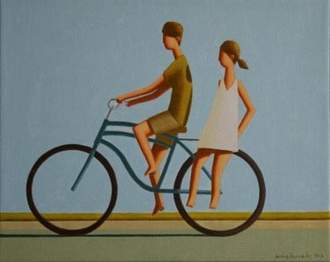 Small Bike Study by Craig Parnaby