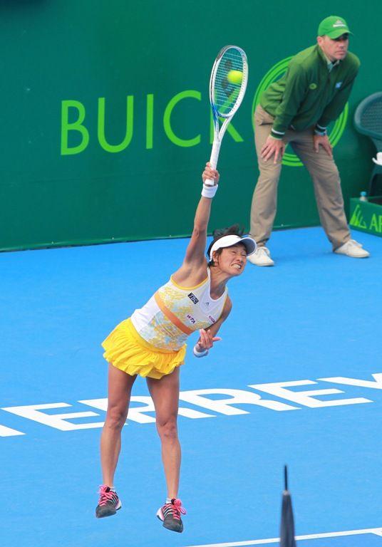 Kimiko Date-Krumm eliminada en las Semifinales del @Abierto Monterrey  (05/04/14) Foto: @Edgar Montelongo