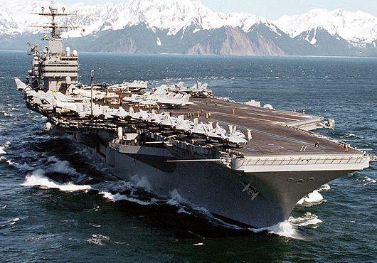Nimitz-class aircraft carrier USS Abraham Lincoln (CVN 72)