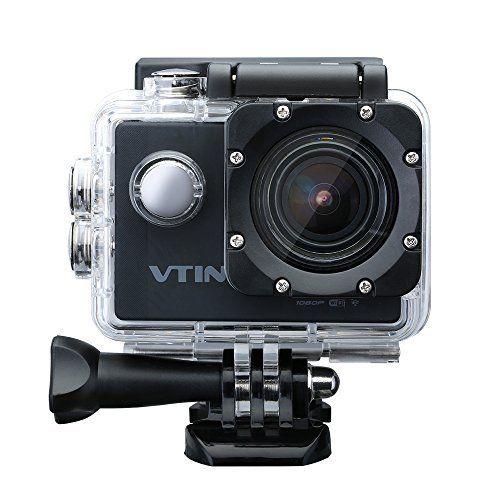 [Caméra de Sport et Action Etanche WIFI] VTIN Eypro Caméscope d'action Etanche 30m Full Haute Définition HD WIFI 1080P 12MP 170°Grand Angle…