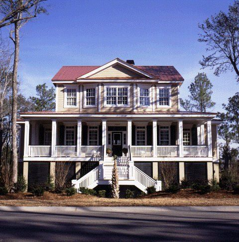 9 best lake and bayfront homes images on pinterest for Charleston house plans