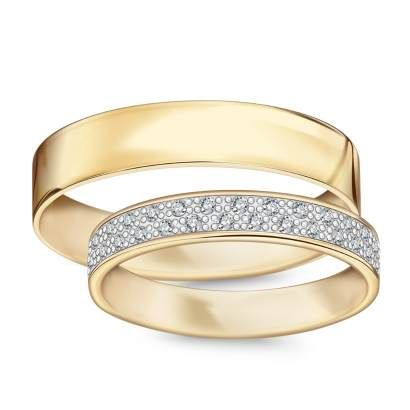 Złote obrączki Forever (565-565D - 26431) - YES