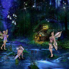 fantasy forest fairy фентези, лесная фея