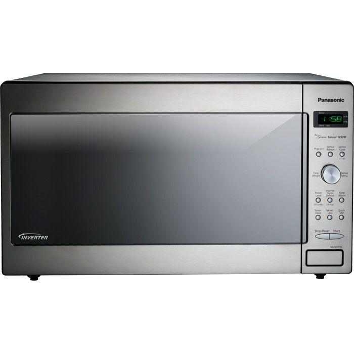 Panasonic® 2.2 Cu. Ft. 1250W Genius Sensor Countertop / Built-In Microwave Oven with Inverter Technology