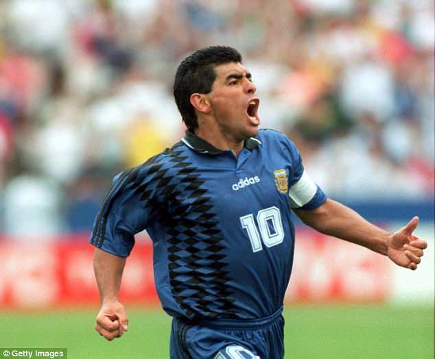 Sportsmail Takes A Look Back At 10 Most Dramatic Moments In World Cup Diego Maradona World Cup Sports