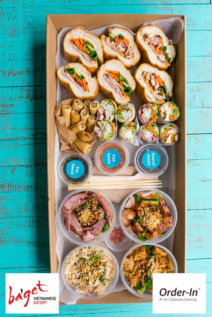 Fresh Food Ideas For Lunch Meetings